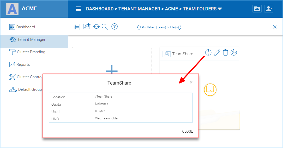 5 Tenant Administration — Administration Guide 10 6