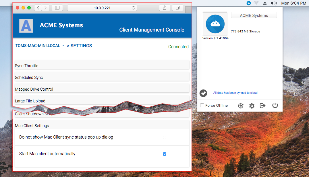 5 Settings — Mac Client User Guide 9 7 41664 documentation