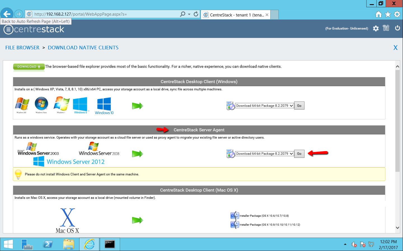 Installation — Server Agent User Guide 8 2 documentation